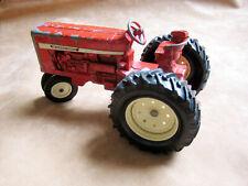 ERTL - International IH Harvester Farm Tractor, Red cast vintage iron - LOW BID!
