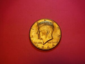 1964 D  KENNEDY HALF DOLLAR - Good Circulated