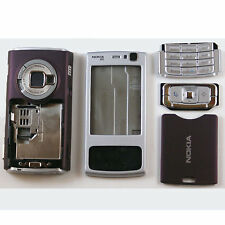 FULL KEYPAD HOUSING FASCIA COVER FOR NOKIA N95 SILVER