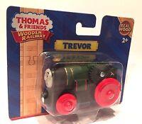 TREVOR Thomas Tank Engine Wooden Railway NEW IN BOX