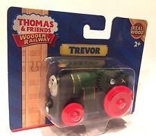 TREVOR Thomas Tank Engine Wooden Railway NEW IN BOX