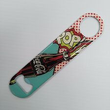 Coca-Cola Pop Art Bottle Opener - FREE SHIPPING
