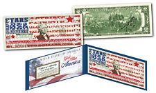 GOD BLESS AMERICA USA Flag STARS & STRIPES Genuine Legal Tender Official $2 Bill