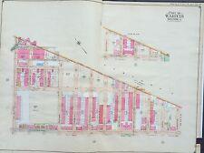 1904 BUSHWICK  BROOKLYN NY KNICKERBOCKER AVENUE E. BELCHER HYDE ATLAS MAP 27X36