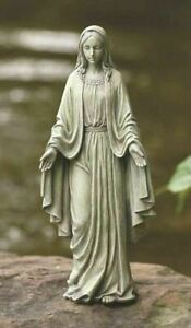 Our Lady of Grace Outdoor Religious 12 Inch Garden Statue