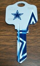 Great Gift Idea NFL Dallas Cowboys KWIKSET KW1, KW10, KW11 UNCUT KEY BLANK