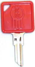 Blank Kenworth Key - Cab Door Lock - Red