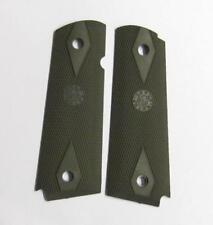 Hogue 45011 Grip Rubber OD Green Improved Panel Fits Colt Govt .45ACP 1911
