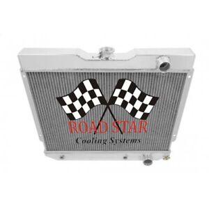 CHEVROLET BEL-AIR 1965 ALUMINIUM 3 ROW RADIATOR WITH POLISHED TANKS (65BA)