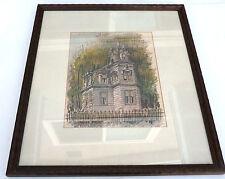 Victorian house print by SUELLEN BEGLEY 66/500