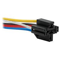 12 VDC 5-Pin Relay Socket Interlocking Style