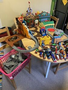 Massive Thomas The Tank Engine Bundle With Take & Play Sets REDUCED
