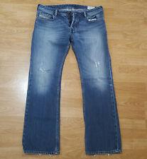 NUOVA linea donna Mid Rise Stonewash Blu Sbiadito Stretch Denim Jeans Bootcut Svasato