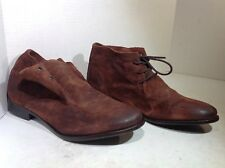Frye Women's Size 10 Carly Chukka Brown Suede Casual Ankle Boots Shoes FB2-12