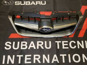 Fits 2008-2009 Subaru Outback Grille Assembly 58315VQ GRILLE; CHROME/BLACK