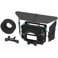 FOTGA DP500III 3 Cine PRO DSLR Swing-away Matte Box for 15mm/19mm Rod Camera Rig