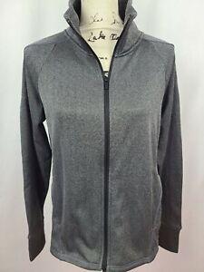Champion C9 Women's Grey Herringbone Tech Fleece Full Zip Athletic Jacket New