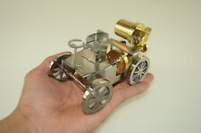 New steam engine  car,Full Metal,live steam