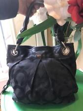Coach 13420 Parker Op Art Convertible Hippie Black hobo bag (900