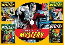 Journey Into Mystery Comics 1-125 On PC DVD Rom (Cbr Format)