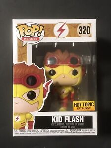 Hot Topic Exclusive The Flash (Kid Flash) Funko Pop! #320