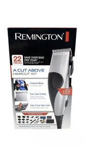 Hair Clipper Remington A Cut Above Haircut Trimmer Kit (22-Pieces)FAST SHIPPING.