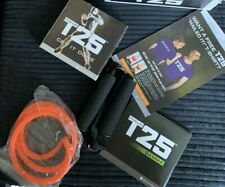 Life Element Shaun T's T25 HIIT burning fat Fitness Programme DVD 14pcs with res