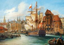 Puzzle Castorland 1000 Teile - Das alte Danzig, Polen (40899)