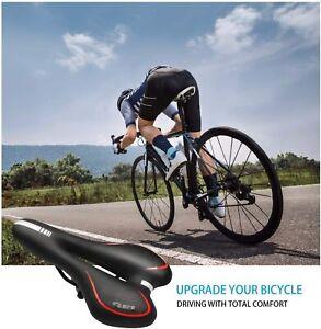 Bicycle Cushion Bike Seat Saddle Soft MTB Cycling Road Anti-skid Comfort Equip