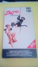 Zorro The Gay Blade Rare CBS FOX Video Red label 1st edition release 1984 VHS