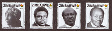 ZIMBABWE - 2015  HEROES - SET OF 4 - MINT NEVER HINGED - REFER SCAN
