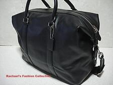 NWT COACH VOYAGER BAG IN SPORT CALF LEATHER F54765 BLACK
