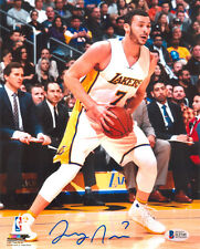 LARRY NANCE JR Autograph 8x10 Lakers Photo - vs NEW YORK KNICKS - Beckett COA