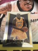 Panini Select Shaquille Oneal Base Card Lakers HOF 2012
