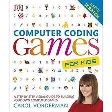 Programmazione informatica giochi per bambini-by Carol Vorderman (pubblicato DK)