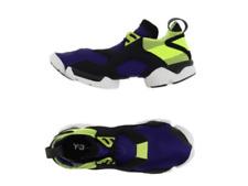 Y-3 by Yohji Yamamoto KOHNA Men's Flat Sneakers Mauve Neoprene Leather Size L