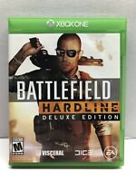 Battlefield Hardline -- Deluxe Edition (Xbox One, 2015) Complete Tested Working