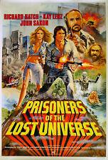 PRISONERS OF THE LOST UNIVERSE 1983 Richard Hatch UK 1-SHEET POSTER