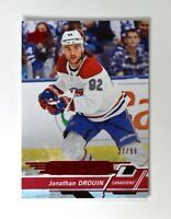 2018-19 UD Upper Deck Overtime Wave 2 Red #72 Jonathan Drouin /99