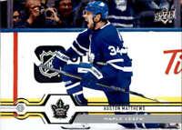 2019-20 Upper Deck #1 Auston Matthews Toronto Maple Leafs