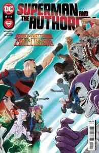 Superman and The Authority #4 - Bagged & Boarded