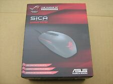 Gaming Mouse ASUS ROG SICA 5000dpi 1000Hz 30g 130ips USB MOBA Black New