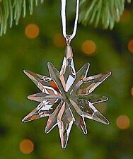 2011 Swarovski~Little STAR Snowflake Mini Christmas ORNAMENT ~ w/ box & coa