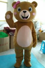 2019 Unisex Bear Mascot Costume Cosplay Party Game Dress Outfit Halloween Adult
