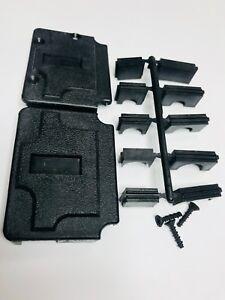 3pcs-207473-1,MFR= Tyco, D-Sub Backshells,37-POS,Cable Clamp Kit, Size4, Plastic