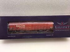 Liliput L235774 Steel Transport wagon RAILON DB Weathered Epoch V H0 New T48Post