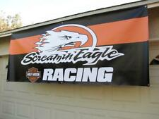 "Harley Davidson ""SCREAMIN EAGLE"" Motorcycles banner poster sign"