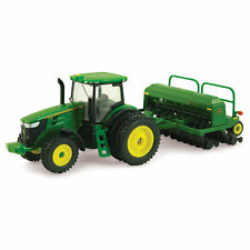 Ertl Collectibles John Deere 7215R Tractor with Grain Drill