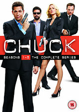 Chuck: Season 1 - 5 Box Set (23 Discs) (DVD) (C-15)
