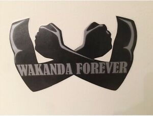 Marvel Black Panther Wakanda Forever Decal Car Decal Kids Room Home Wall Sticker